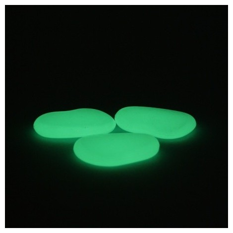 PoliGlow Decor Stone - neon-green