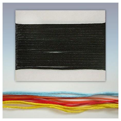 Satin cord  - black