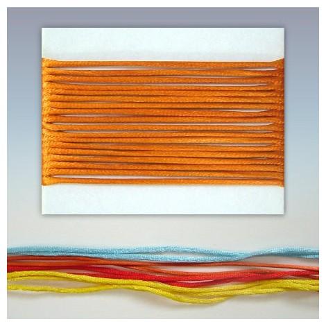 Satin cord  - orange