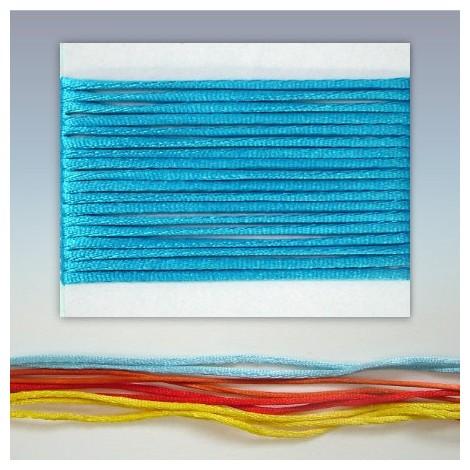 Satin cord  - turquoise