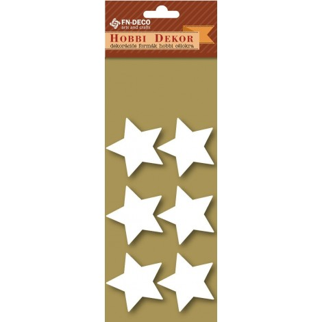Deco-foam shapes - stars (3-4cm)