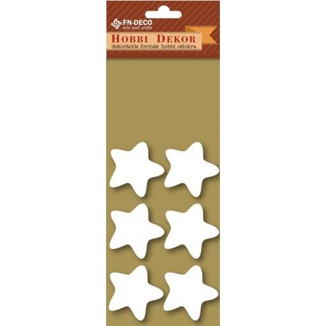 Deco-foam shapes - stars (3-4cm)