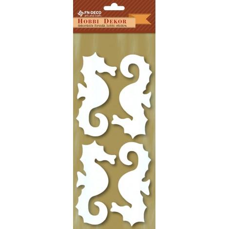 Deco-foam shapes - sea horse (8-10cm)