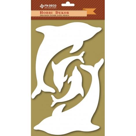 Dekorhab forma - delfinek (6-12cm)