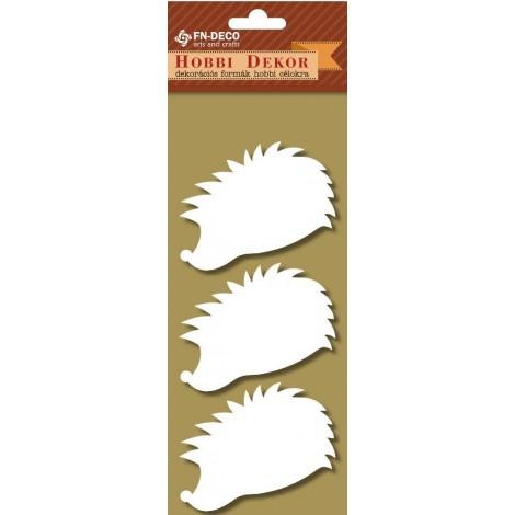 Deco-foam shapes - hedgehogs (6-8cm)