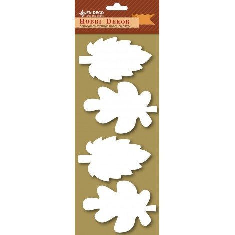 Deco-foam shapes - leaves (8-10cm)