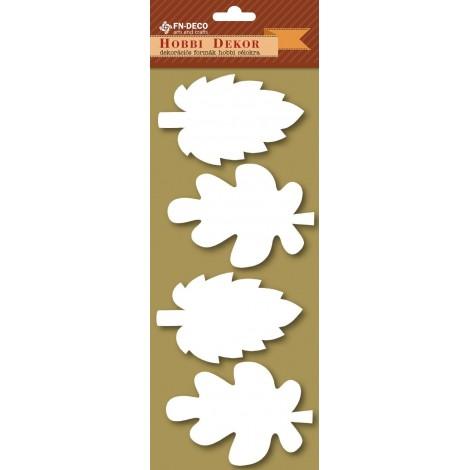 Deco-foam shapes - leaves (8-10cm)