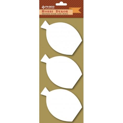 Deco-foam shapes - vases (8-10cm)