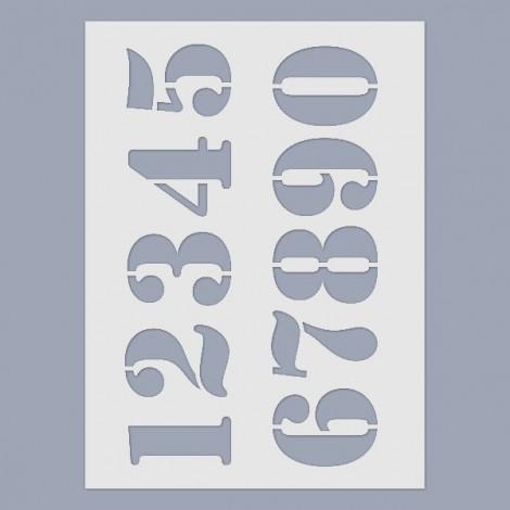 Stencil - Numbers