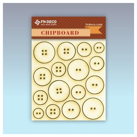 Chipboard set - buttons