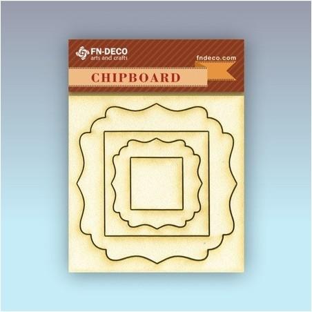 Chipboard set - frames