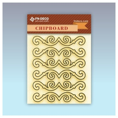 Chipboard set - frames