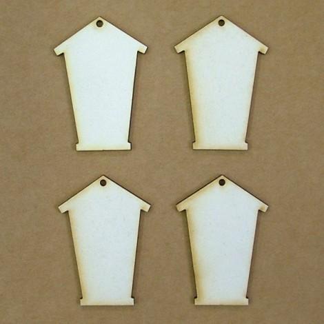 Chipboard  - birdhouse (5 cm)