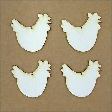 Chipboard - hen (5 cm)