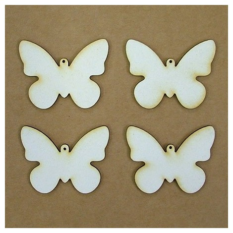 Chipboard - butterfly (5 cm)