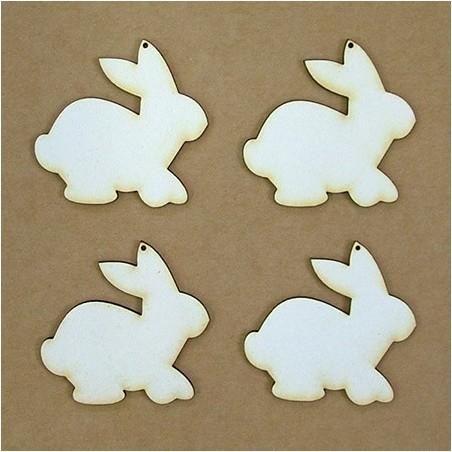 Chipboard - bunny (5 cm)