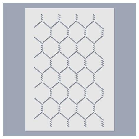 Stencil - V pattern