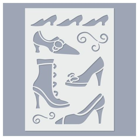 Stencil - Shoes