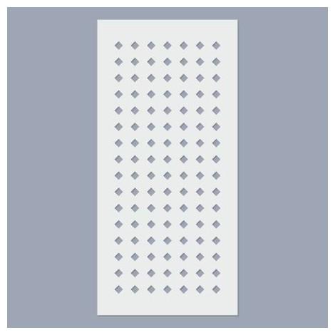 Stencil - Square pattern  4mm