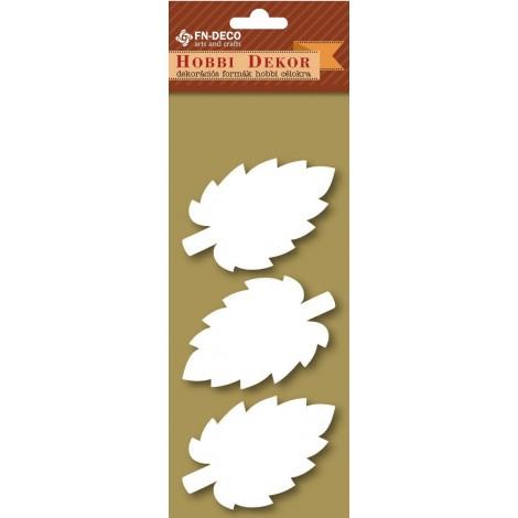 Deco-foam shapes - leaves (6-8cm)
