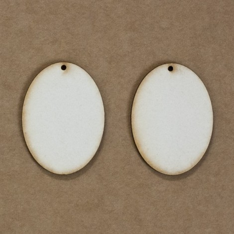 Chipboard - ovális (~4 cm)