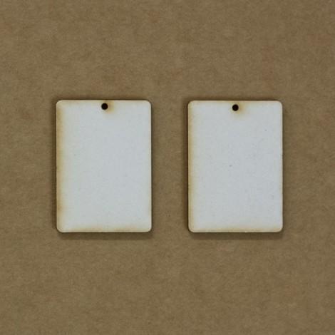 Chipboard - téglalap (~3,5 cm)