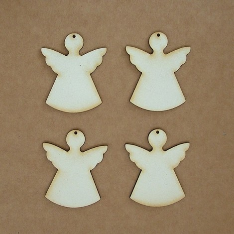 Chipboard - angyal (5 cm)