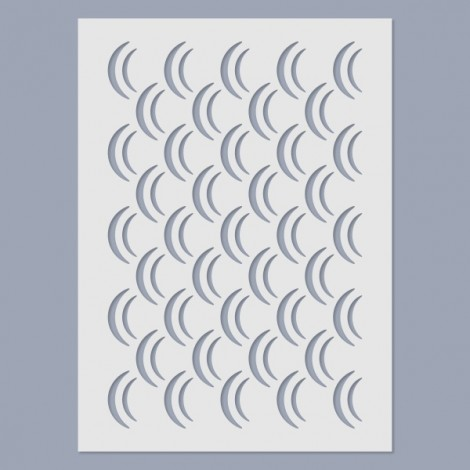 Stencil - Wave pattern