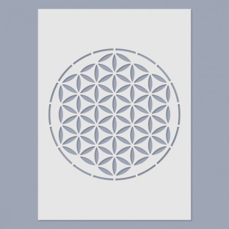 Stencil - Az élet virága