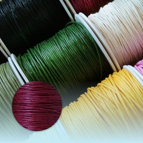 Waxed Thread - claret
