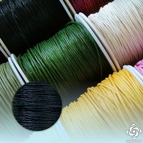 Waxed Thread - black