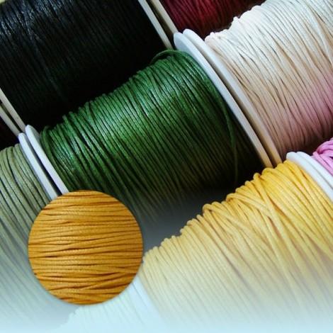 Waxed Thread - sun yellow