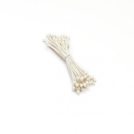 Virágbibe - Fehér
