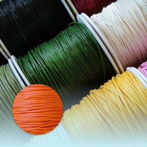 Waxed Thread - orange