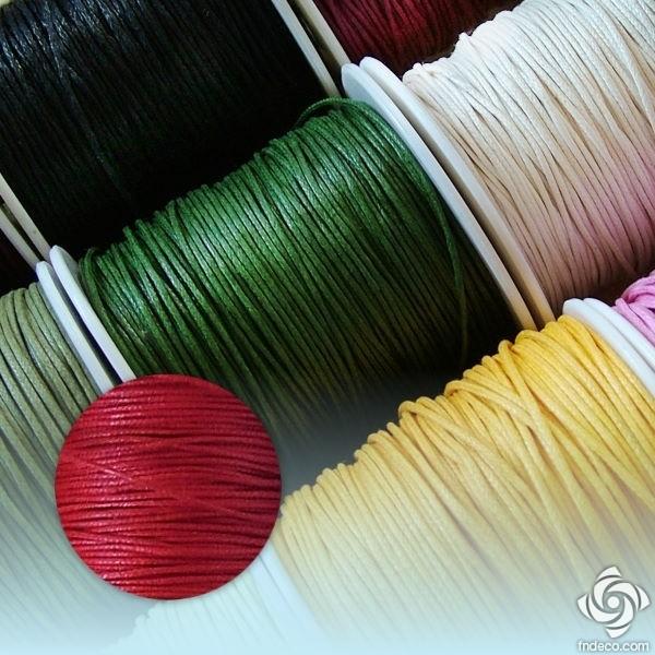 Waxed Thread - red