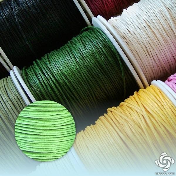 Waxed Thread - spring green