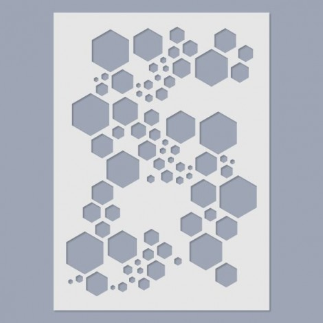Stencil - Super Hexagon