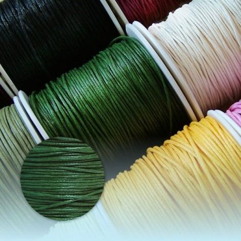 Viaszolt szál - zöld