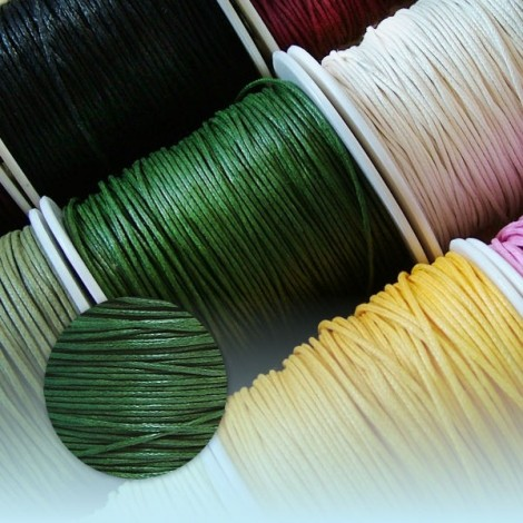 Waxed Thread - green