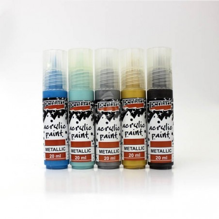 Metalic acrylic paint (20ml)