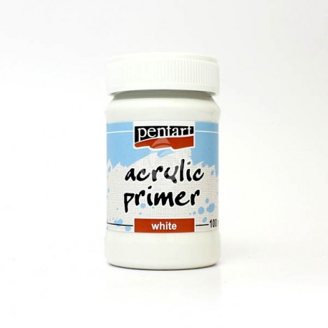 Acrylic Primer - white, 100ml
