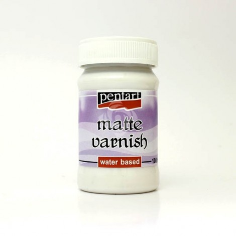 Matte Varnish, 50 ml