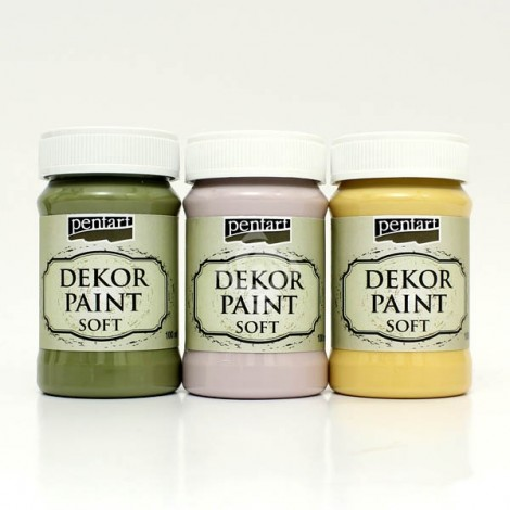 Decor Paint Soft - Dekorfesték - lágy, 100 ml