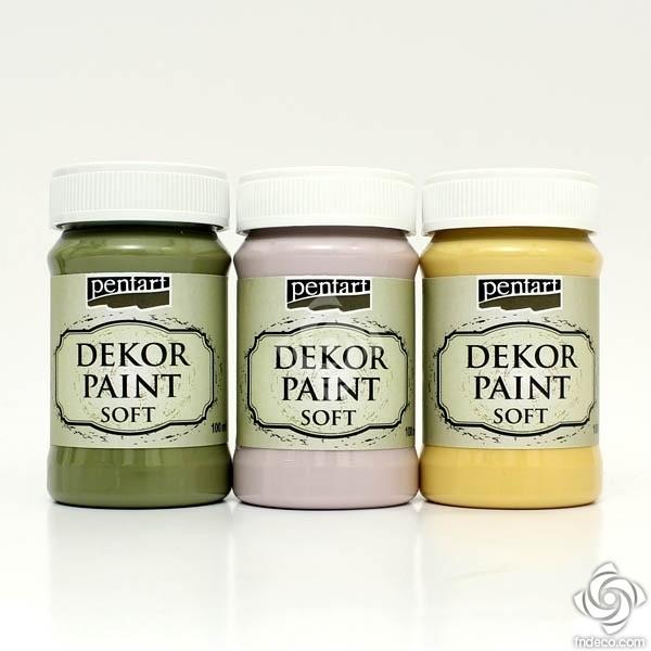 Decor Paint, soft, 100 ml