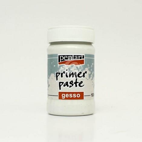 Primer paste, Gesso – white – 100 ml