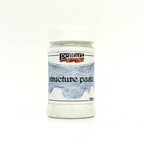 Struktúrpaszta - fehér, 100 ml