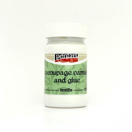 Decoupage Glue and Varnish for textile, 100ml
