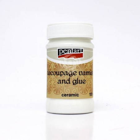 Decoupage Glue and Varnish for ceramic, 100ml