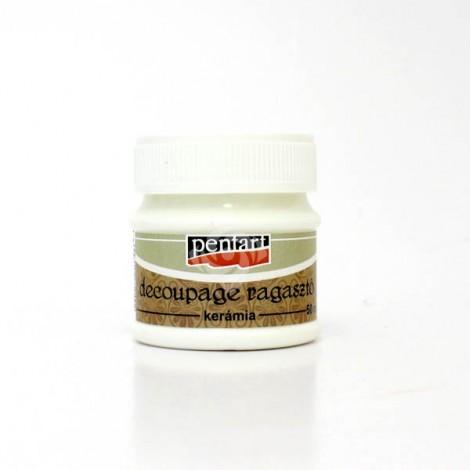 Decoupage Glue and Varnish for ceramic, 50ml