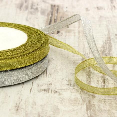 Metallic ribbon, 10 mm